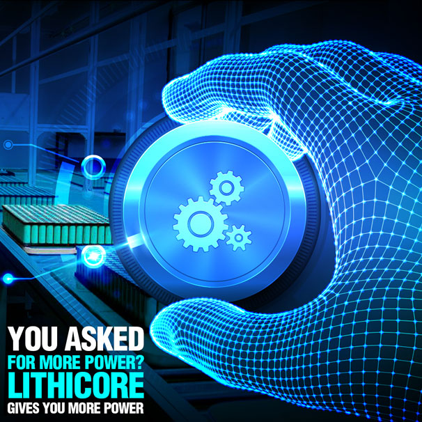 Lithicore tech Battery pack